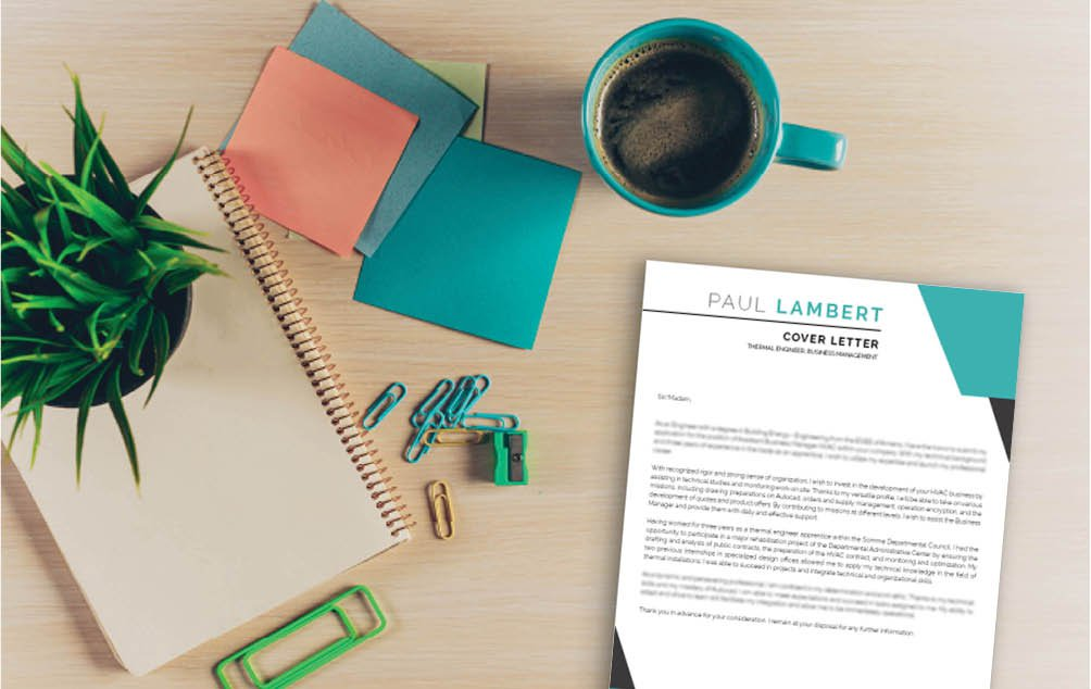 Creative and functional design, all points that make a good resume template