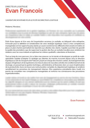 400 Modèles De Cv Et D Exemples De Lettres De Motivation à