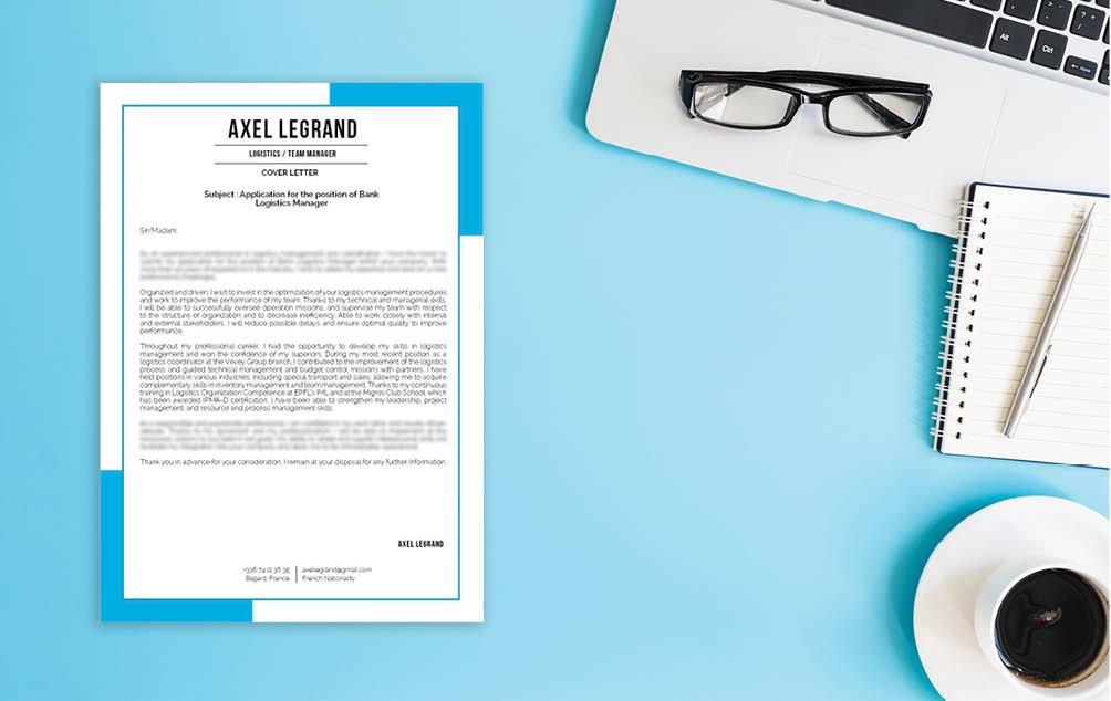 A professional business resume template that is both creative and functional