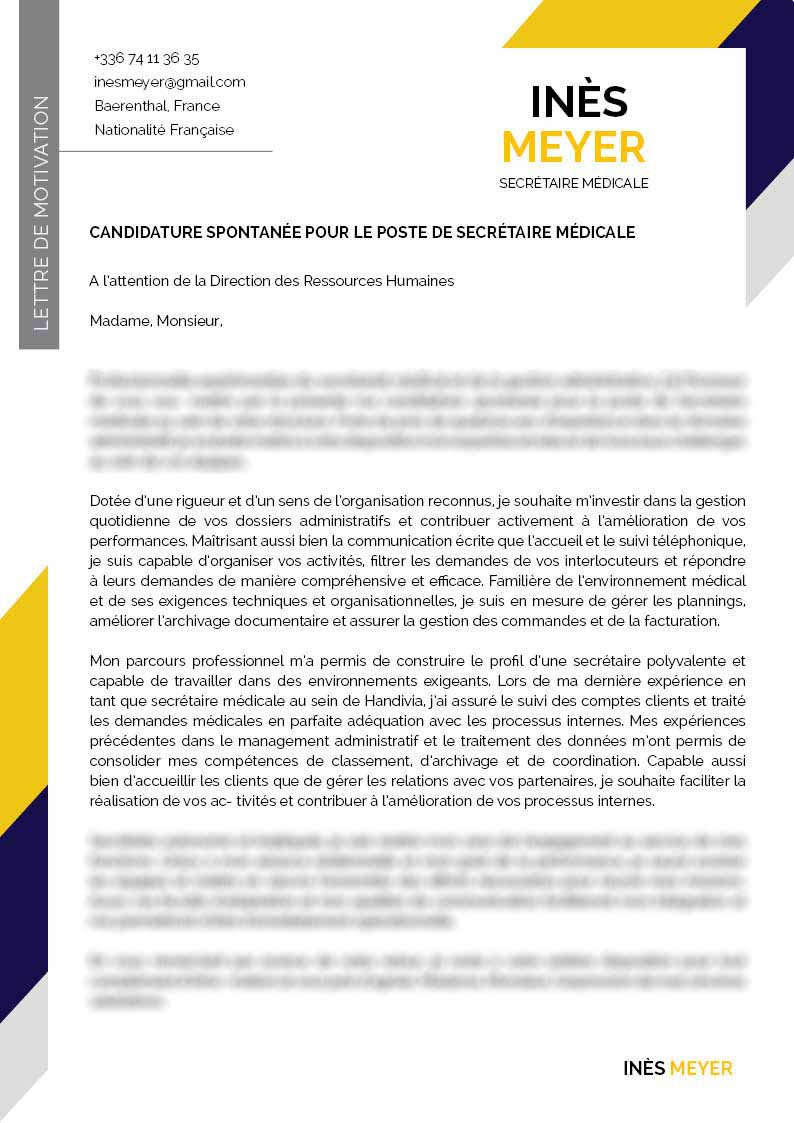 Lettre De Motivation Design Lettre De Motivation Atypique
