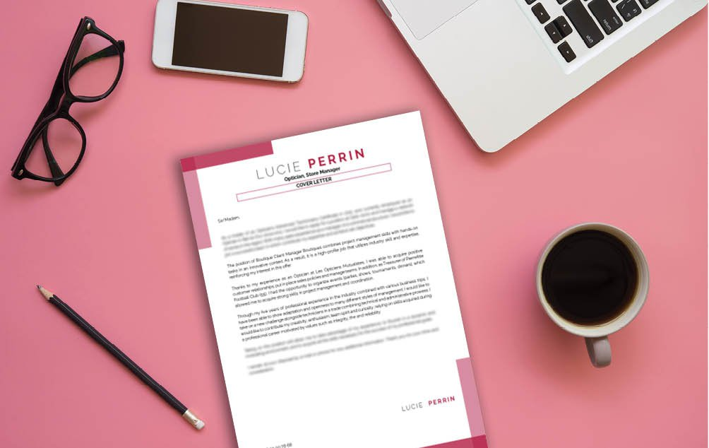 A template made with great design and all content written in great detail. The perfect professional cover letter!
