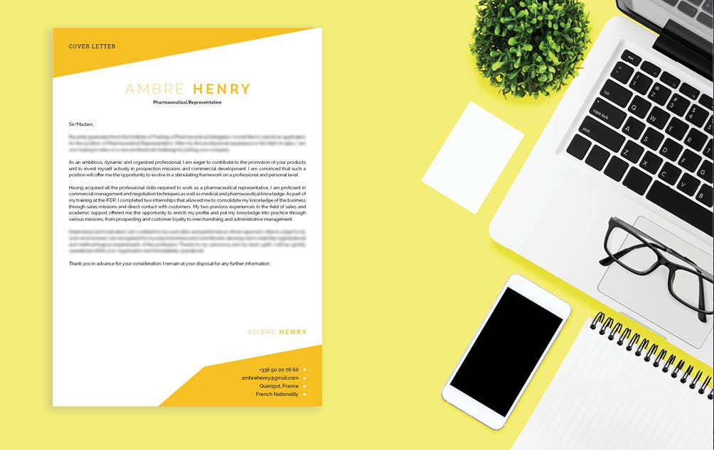 The perfect mix of creativity and functionality -- a resume template fit for all job types!