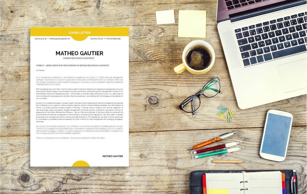 The best cover letter format for any professional looking to expand their career horizons
