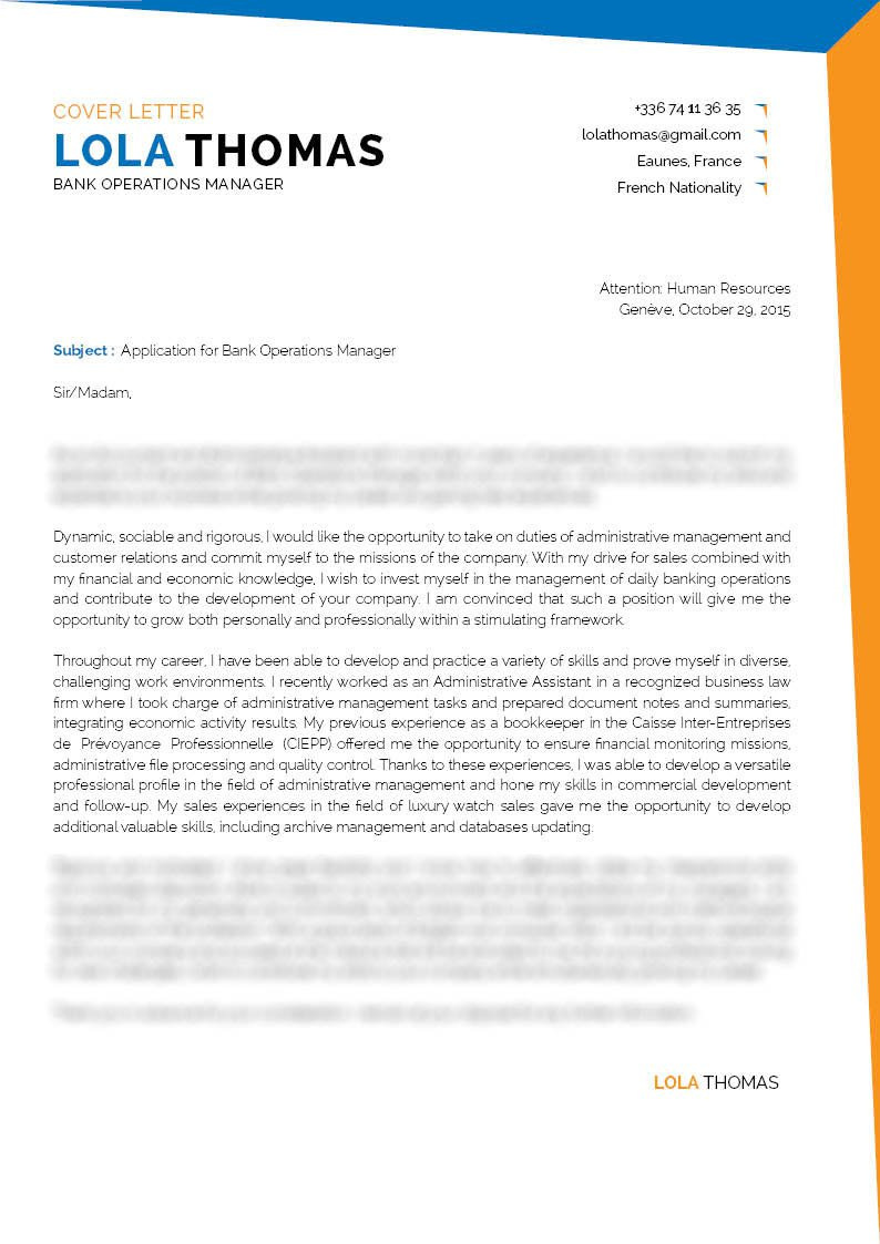 Operations Manager Cover Letter from media.mycvfactory.com