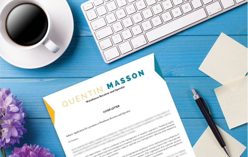 This great  cover letter template has all you need in a professional profile