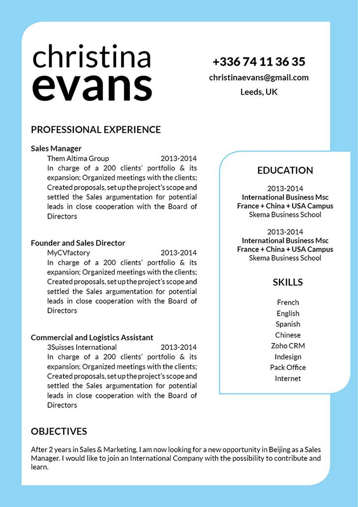 This functional resume template is your ticket to land that dream job!