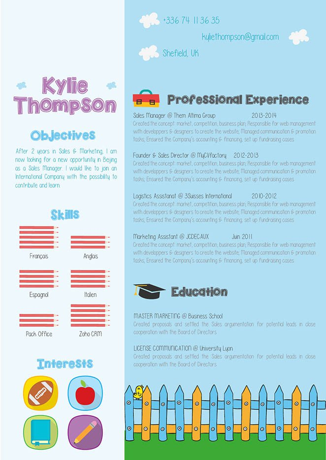 Look no further because this teacher resume template is best choice!