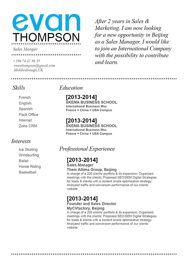 Land a great job with this functional resume template as it presents all your qualifications perfectly!