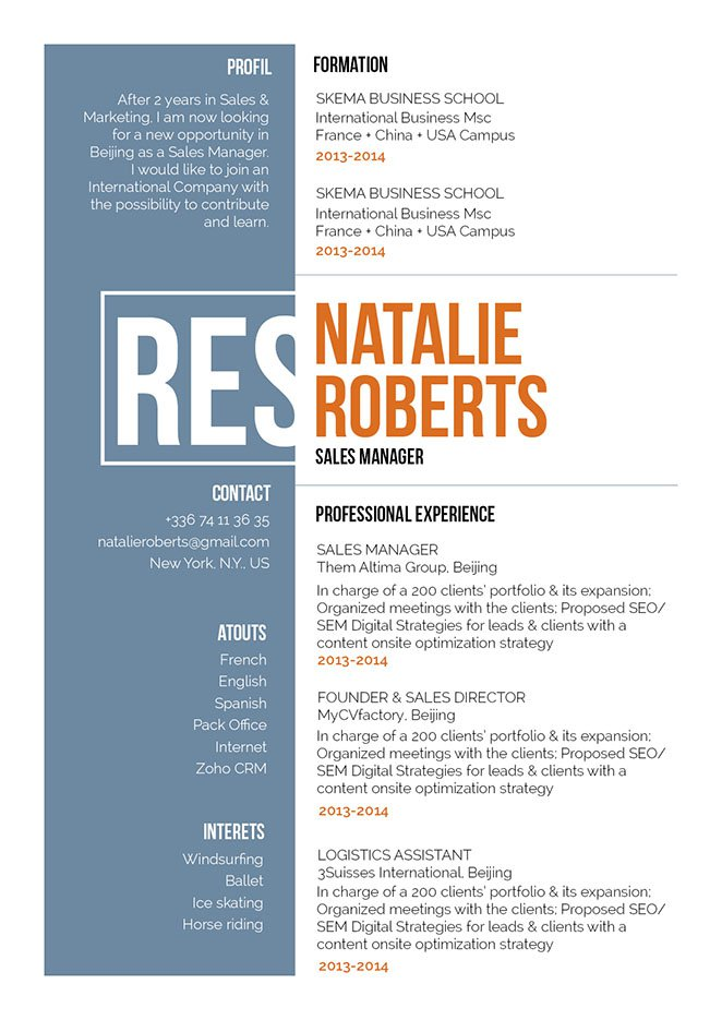 A sales resume template that will get you hired, guaranteed!