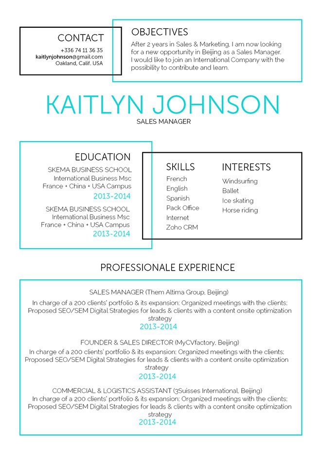 Attract all recruiters with a great resume!
