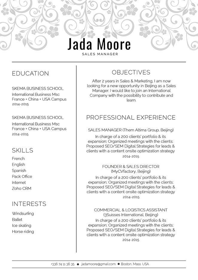 A functional professional CV for all jobs!