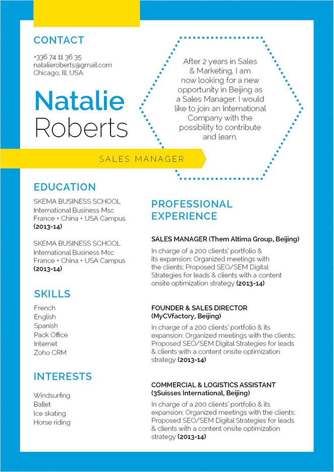 A functional resume template that is guaranteed to help you create an effective CV!