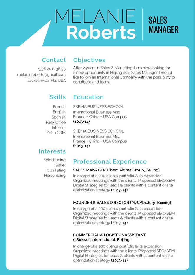 This functional resume template has a great format and layout -- what else do you need?