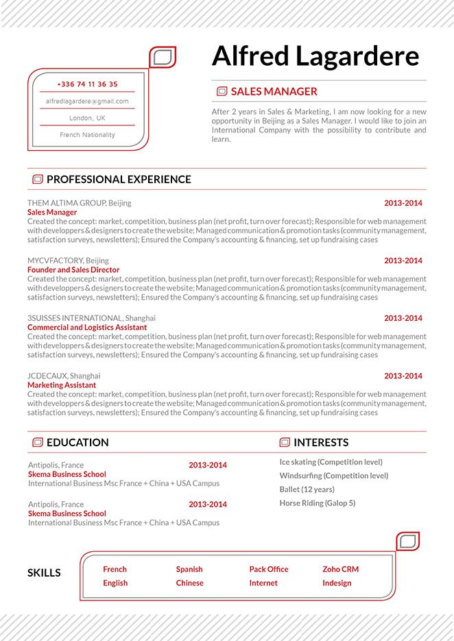 Well-formatted and clean, simple resume format for all type of jobs out there!