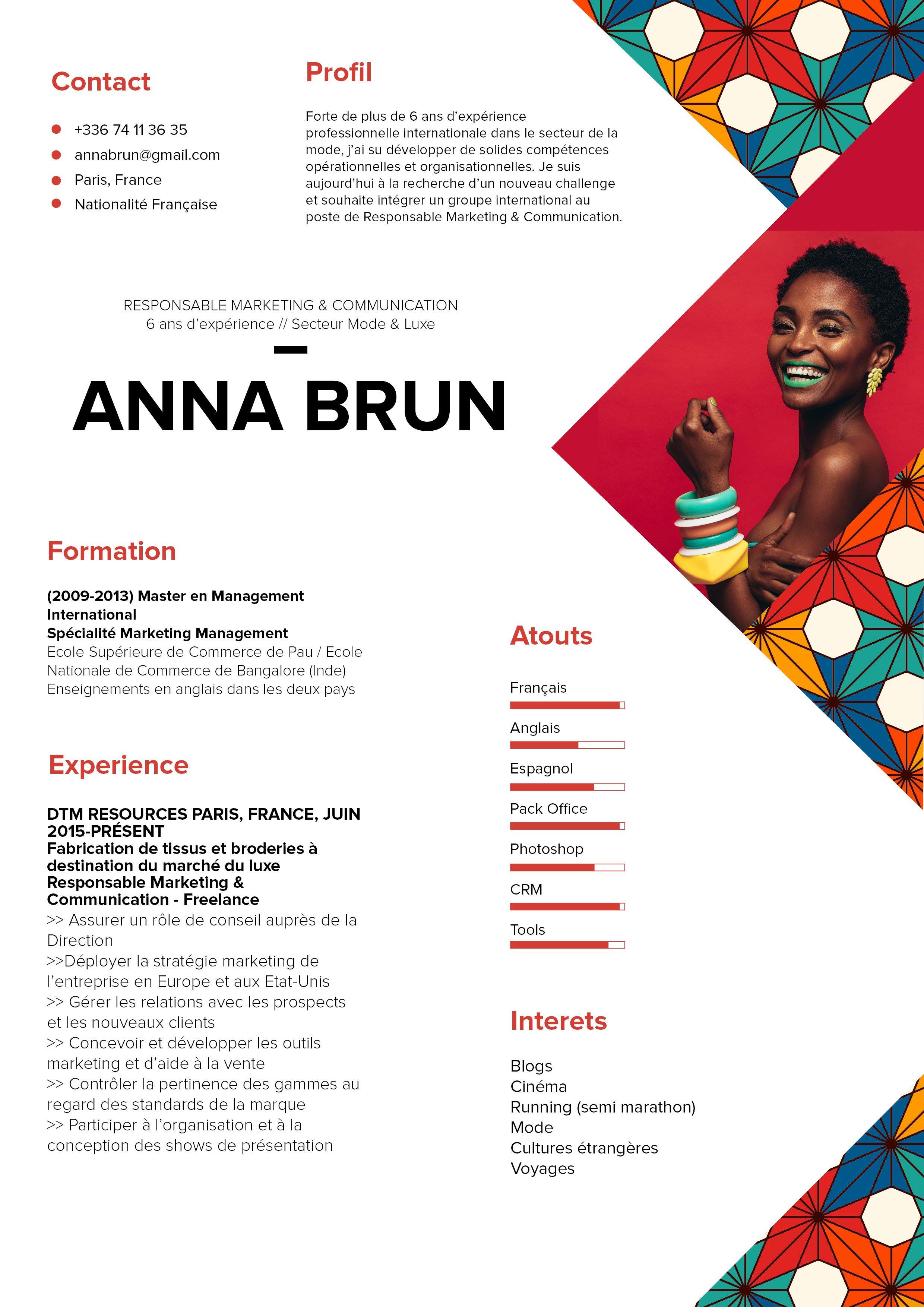 anna  u00b7 mycvfactory
