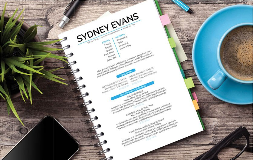 No need to worry about creating that perfect resume lay out, this template has the best resume format for professionals