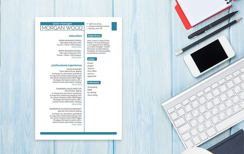 This is a great resume template to get you started on that effective CV!
