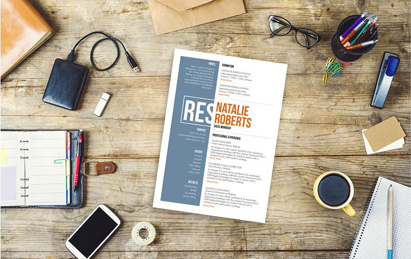 The perfect sales resume template to get you that dream job