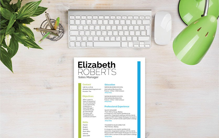 A great resume template that has all the workings of a functonal CV