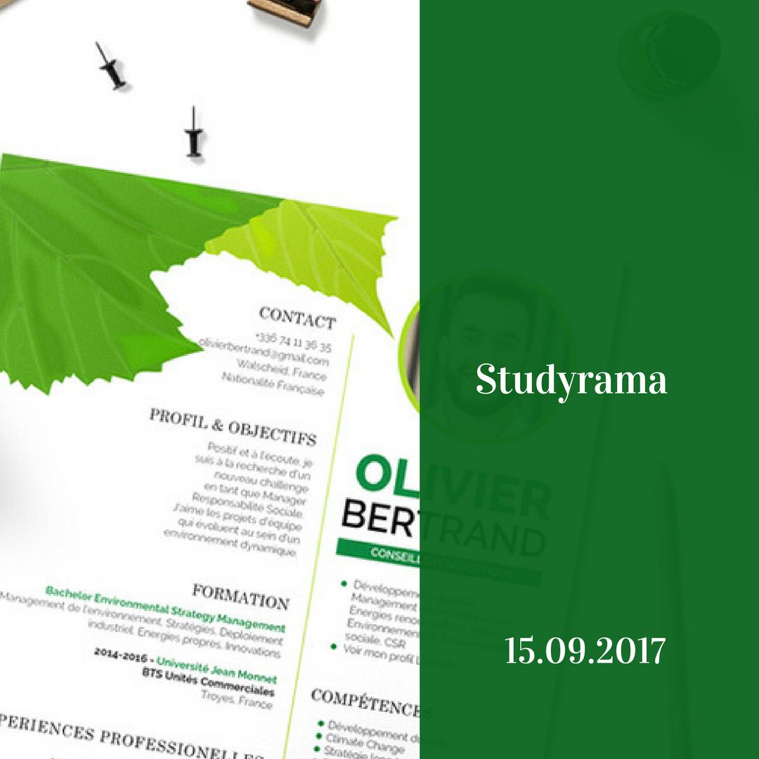studyrama mycvfactory