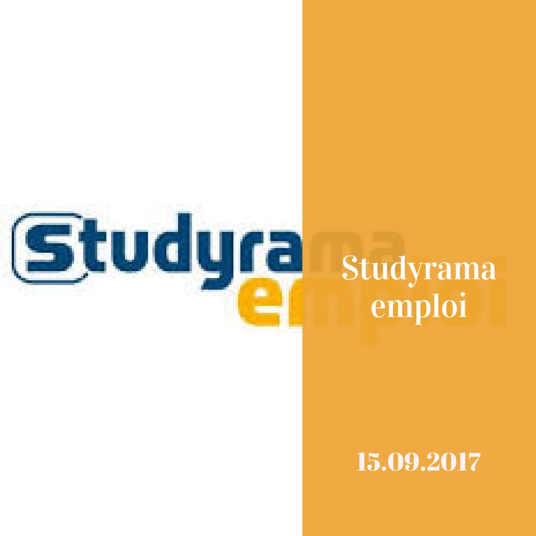 studyrama emploi