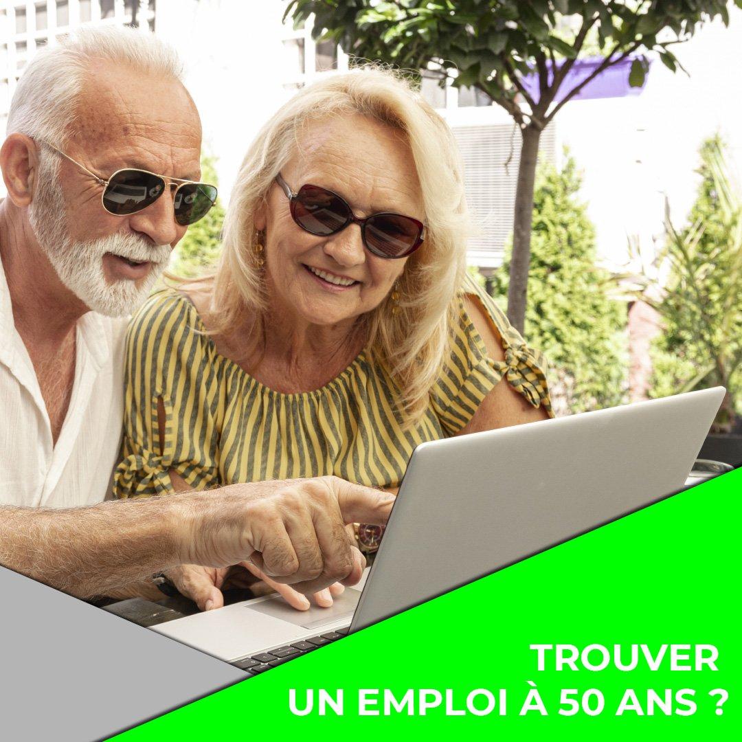 trouver un emploi à cinquante ans